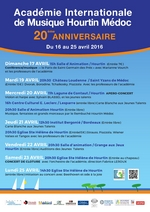 Programme académie Internationale de Musique Hourtin Médoc